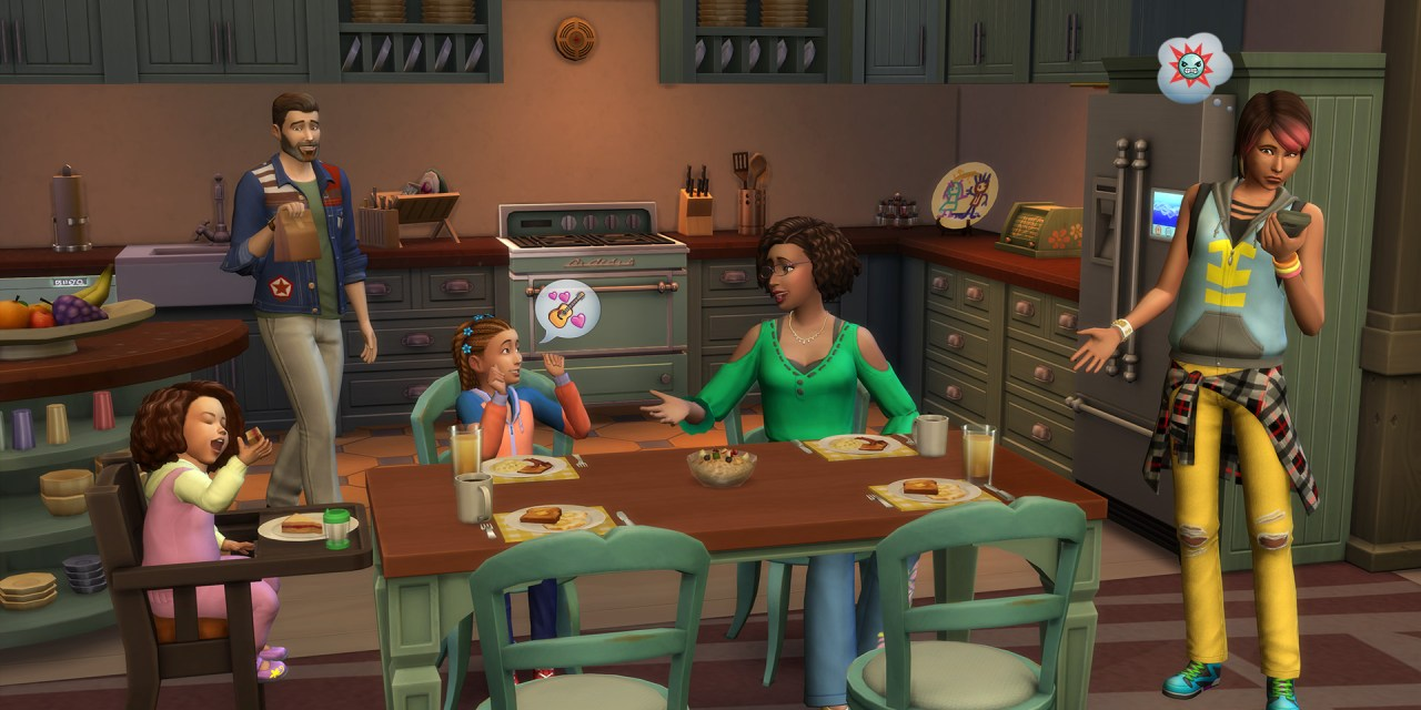 Learn All About Character Values in The Sims 4 Parenthood Game Pack
