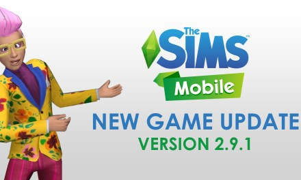 New Game Update Arrives for The Sims Mobile