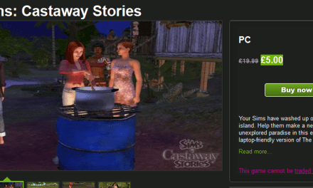 Get The Sims Castaway Stories for £5.00 @ Green Man Gaming