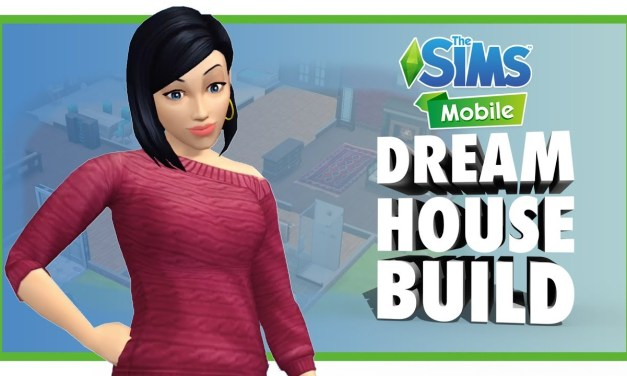 Building A Dream House in The Sims Mobile