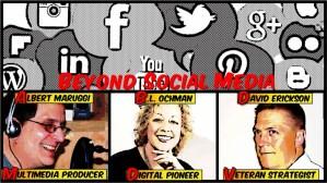 Preview, Beyond Social Media Show Episode 31 – Tues, Jan 14, 2014 9 PM EST