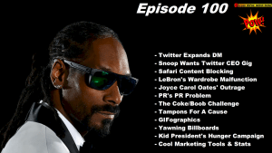 Beyond Social Media - Snoop Dogg For Twitter CEO - Episode 100