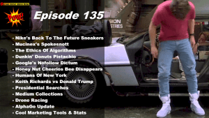 Back To The Future Sneakers & Drone Racing