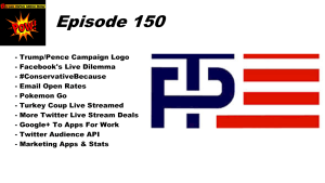 Beyond Social Media - Trump/Pence Logo - Episode 150