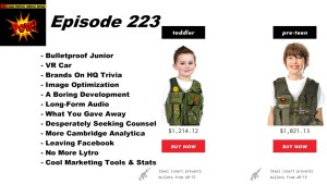 Beyond Social Media - Bulletproof Junior - Episode 223