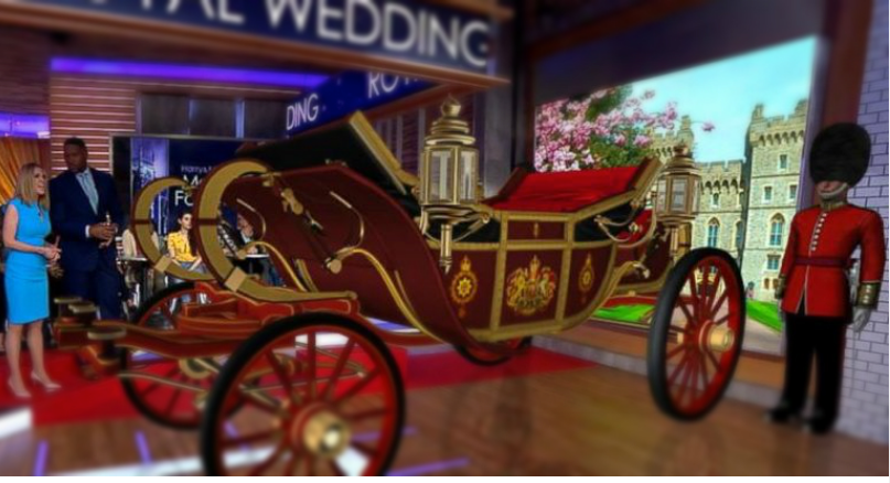 Augmented Reality App for Royal Wedding