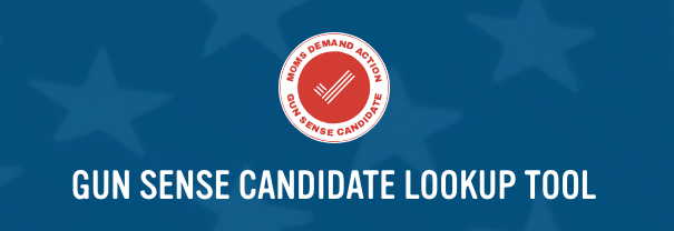 Gun Sense Voter app let's you look up candidate who support gun control
