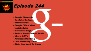 Beyond Social Media - Google Closes Google Plus - Episode 244