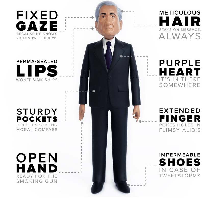 Robert Mueller Action Figure