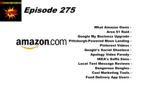 Beyond Social Media - What Amazon Owns - Episode 275