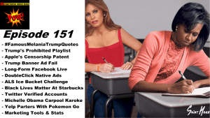 Melania Trump's Plagiarism & Apple's Censorship