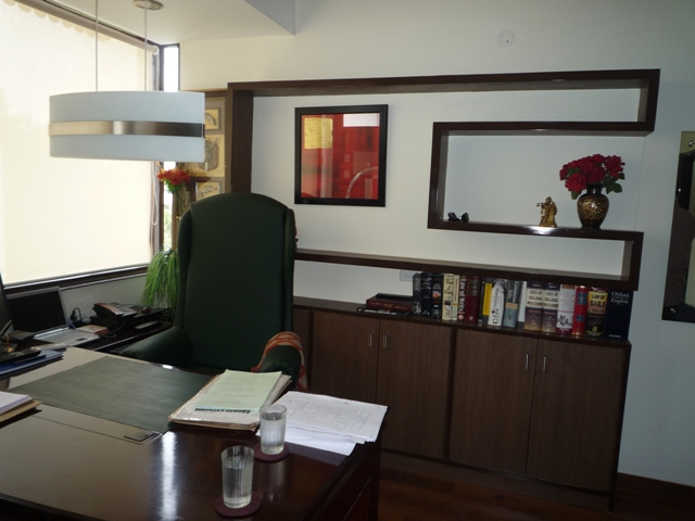 Interior Design For Advocate S Office Sector 22 Chandigarh Beyond Space Design Studio