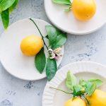 Blueberry and Meyer lemon scones