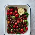 Heirloom tomato confit