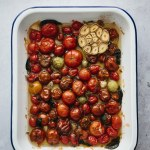 tray of tomato confit
