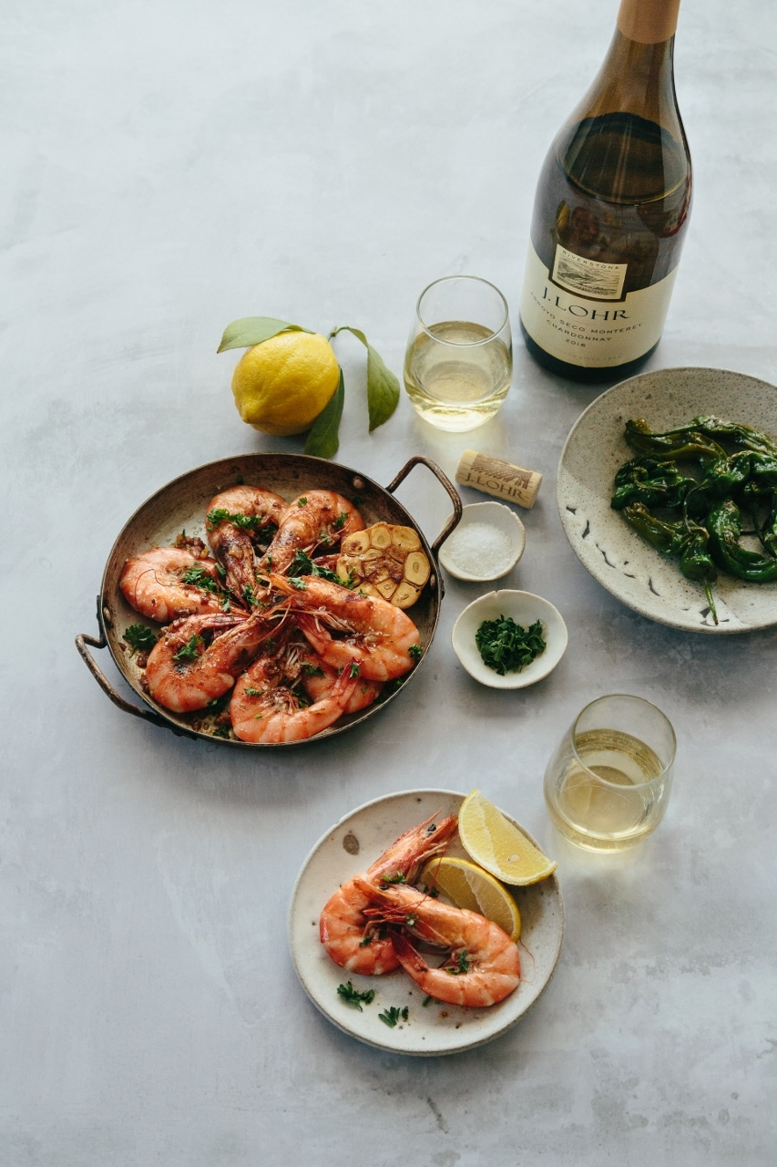 Gambas Al Ajillo Garlic Prawns Tapas Beyond Sweet And Savory