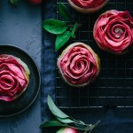 Hidden rose apple mascarpone tarts