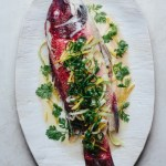 Steamed Fish with Ginger and Scallions