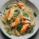 Vietnamese Crab Cellophane Noodles Miến Xào Cua