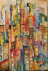 "Jersey Miasma 24""x36"" Acrylic on Canvas (Sold)"