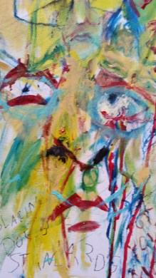 Slice with the Vein (detail) Oil on Canvas