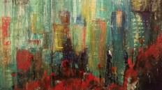 Shenzhen 10 x 12 Oil on canvas board (Sold)
