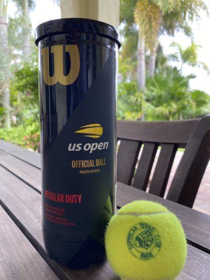 can of tennis balls