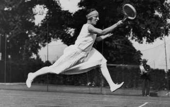lady tennis player