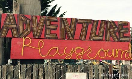 L'Adventure Playground, baskets, bricole et barbouille