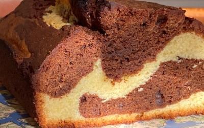 Recette du marbré au chocolat