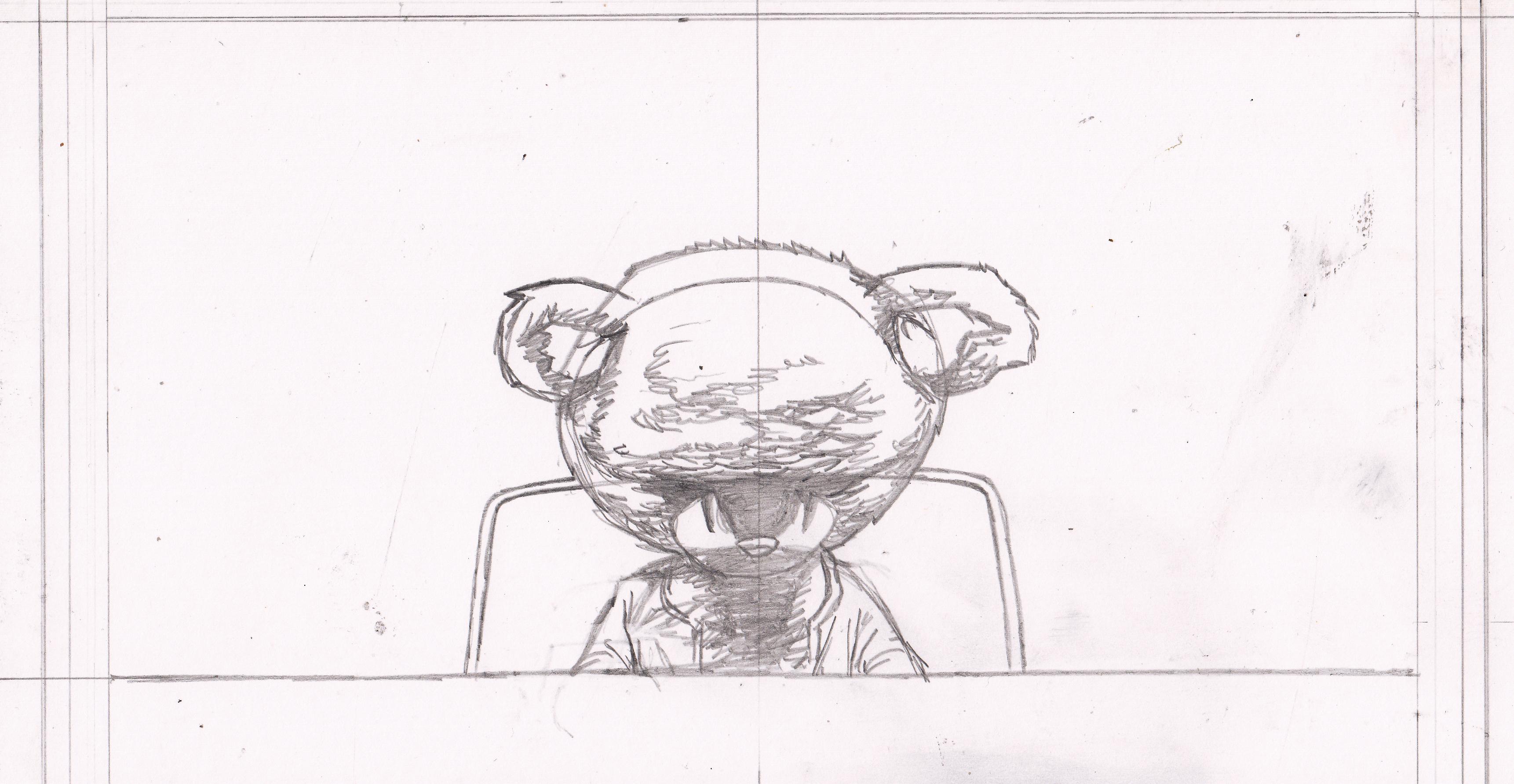Evil Teddy Bear Drawings Pencil