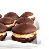 Chocolate–Peanut Butter Whoopie Pies