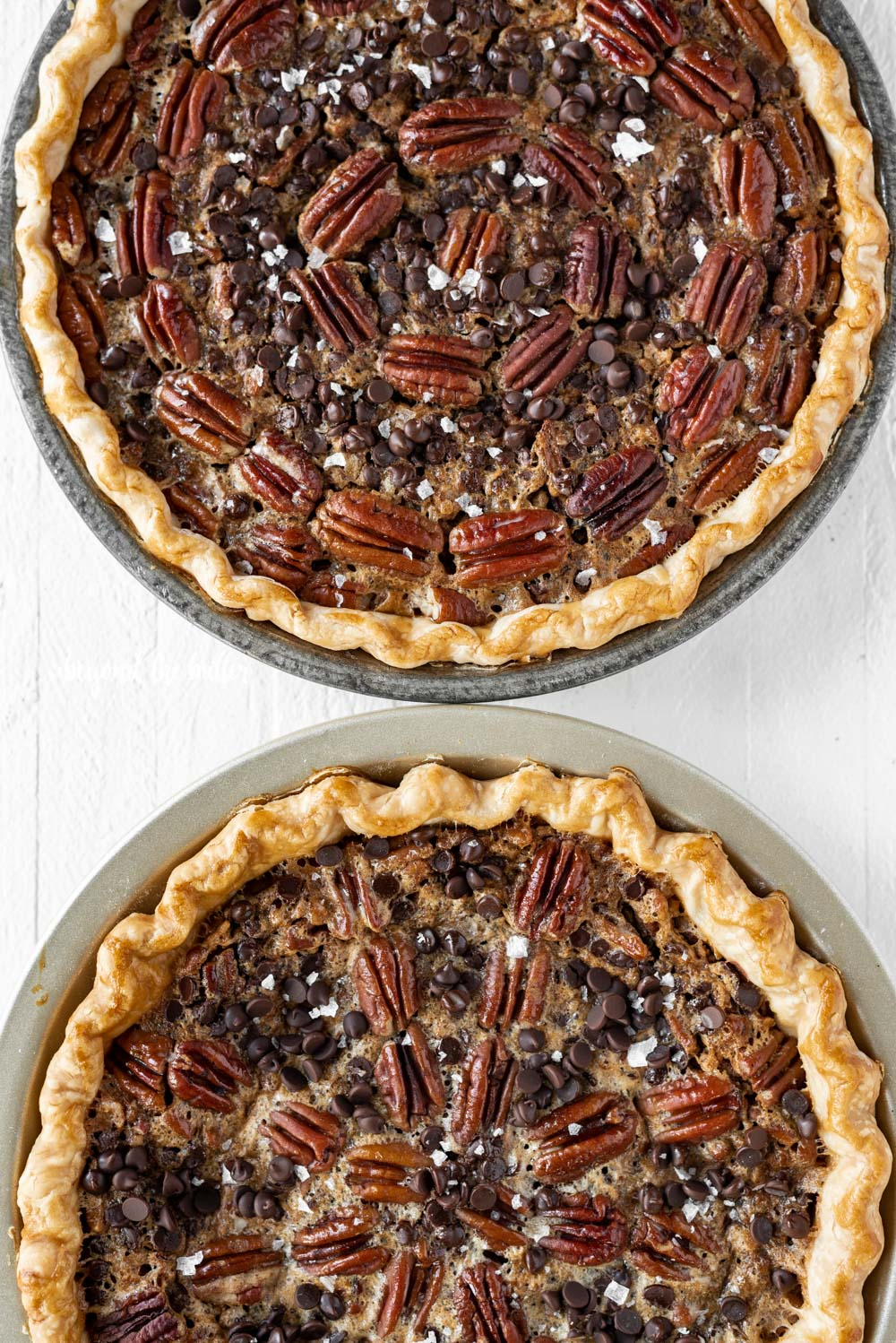 Easy Chocolate Pecan Pie | All Images © Beyond the Butter, LLC