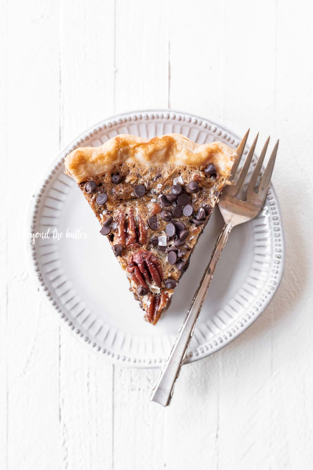 Easy Chocolate Pecan Pie recipe | All Images © Beyond the Butter, LLC