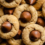 Overhead closeup image of peanut butter blossoms | All Images © Beyond the Butter™
