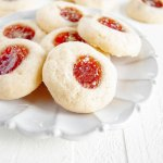Holiday Jamboree Cookies - jamboree cookies on a plate
