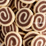 Overhead image of Chocolate Pinwheel Cookies | All images © Beyond the Butter™