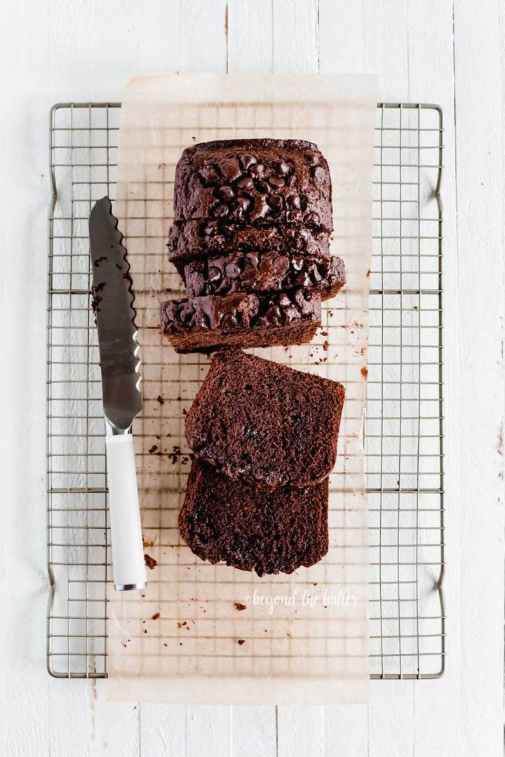 Easy One Bowl Chocolate Zucchini Bread | All Images © Beyond the Butter, LLC
