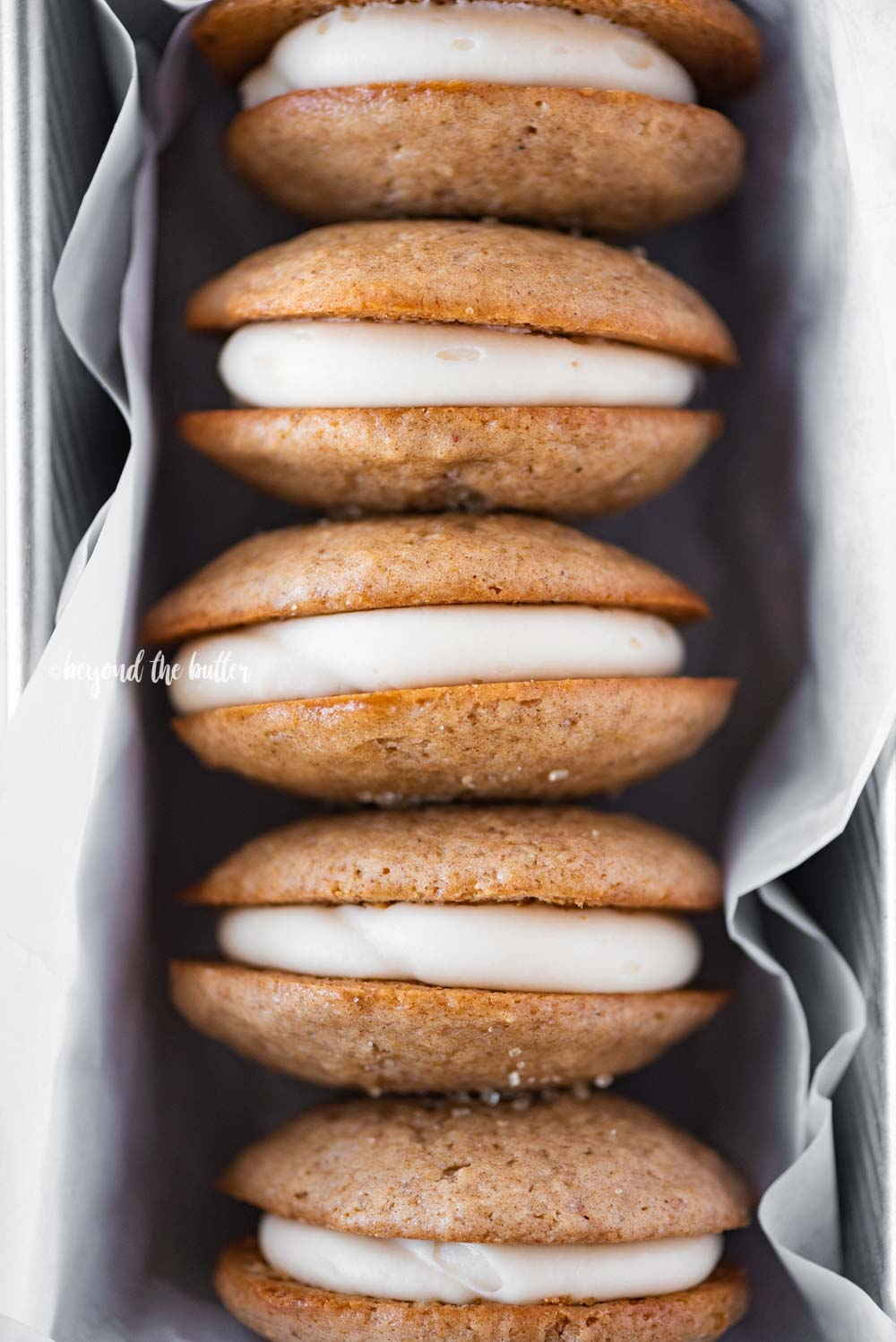 Apple Cider Whoopie Pies | All Images © Beyond the Butter, LLC