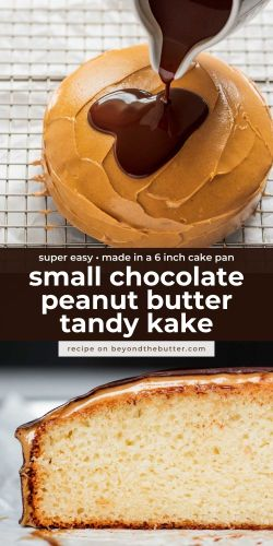 Images of small chocolate peanut butter tandy kake from BeyondtheButter.com | © Beyond the Butter®