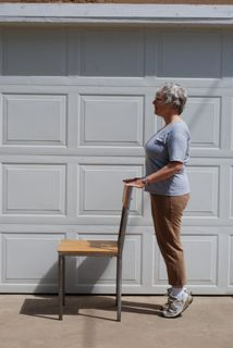 Fall prevention - senior exercise example