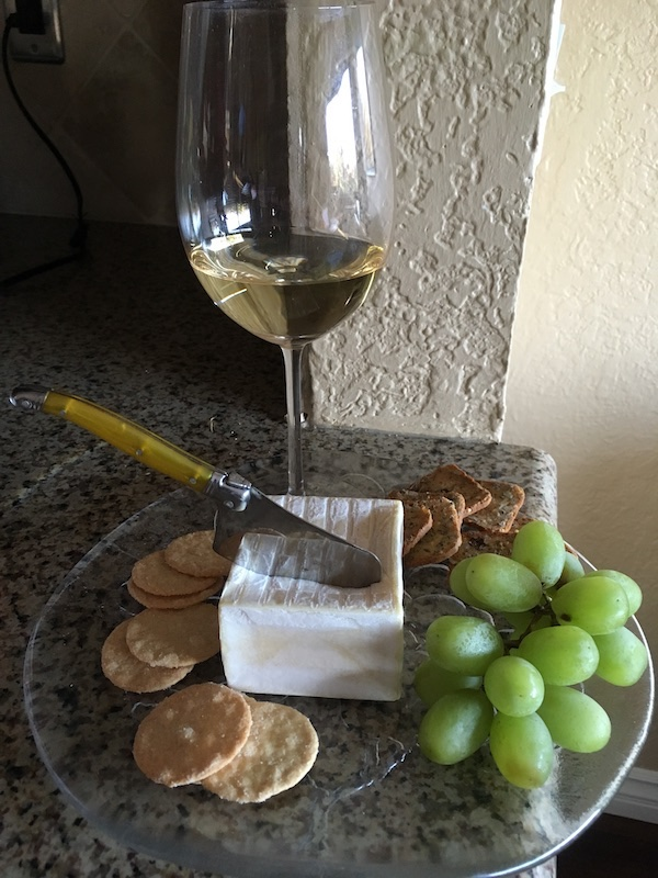French Companions: Chablis with Fromage Pavé  #Winophiles