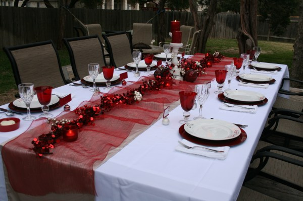 Dinner Party Table Decorations Ideas