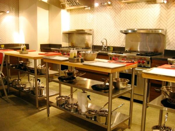 Kitchen Classroom Work Stations