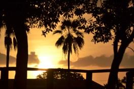 Sunset Behind Surfers Paradise.