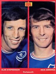 Alan Stephenson and Nick Jennings, Portsmouth 1973