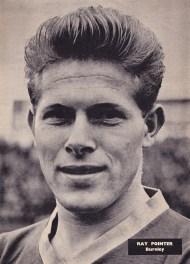 Ray Pointer, Burnley 1960