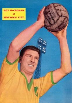 Roy McCrohan, Norwich 1959