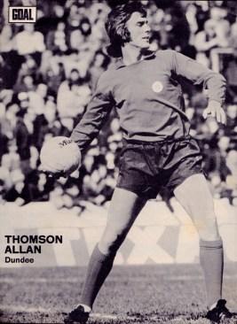 Thomson Allan, Dundee 1973