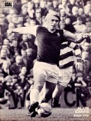 Alun Evans, Aston Villa 1973